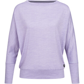 super.natural Kula Top Dames, wisteria melange